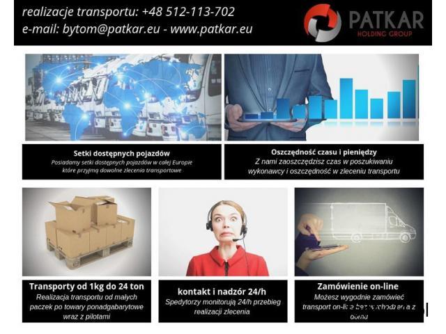 Transport i Spedycja - realizacja każdego zlecenia od 1kg do 24ton - 1/1