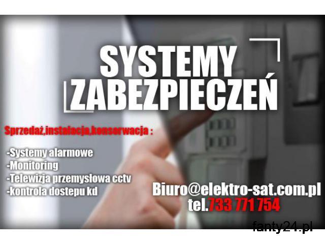 Monitoring kamery domofon montaż system alarmowy Goleniów - 1/1