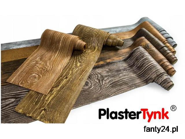 Elastyczne deski elewacyjne PlasterTynk - imitacja drewna. Dekostyl perfectstyr dekordeska dekorlux - 1/1