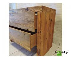 Stylowe meble łazienkowe ze starego drewna na wymiar - 2/2