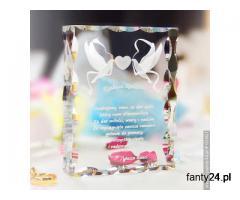 Gołąbki Miłości 3D w prezencie ślubnym dla rodziców!