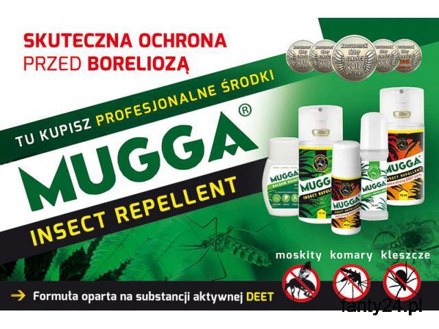 Sklep Mugga Deet na komary tropikalne i zwykłe. Profesjonalne. - 1/1