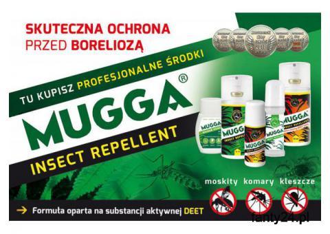 Sklep Mugga Deet na komary tropikalne i zwykłe. Profesjonalne.