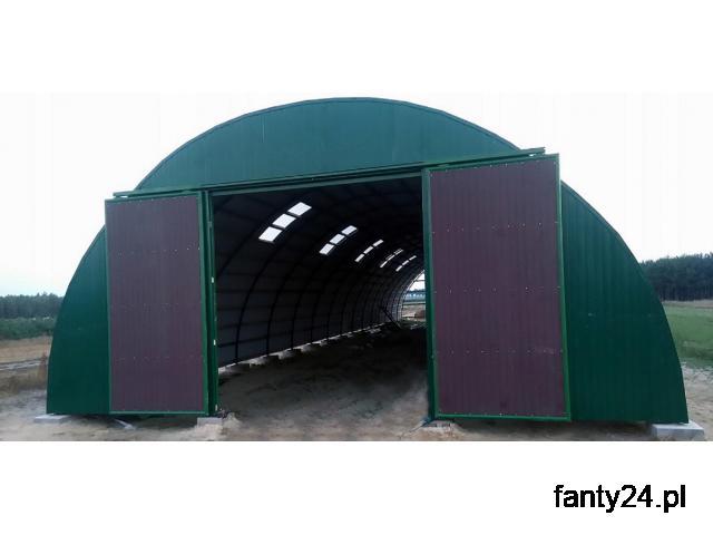 HALA łukowa tunelowa magazynowa hangar 11,8 x 25 - 1/2
