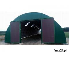 HALA łukowa tunelowa magazynowa hangar 11,8 x 25
