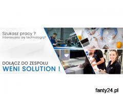Praca Handlowiec Sprzedaż urządzeń CNC Weni Solution
