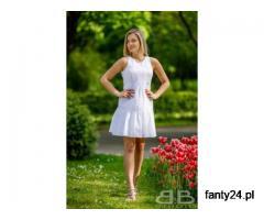 Zjawiskowe białe sukienki koronkowe - bbstudio.eu