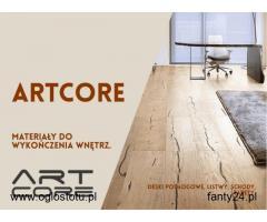 ArtCore - materiały wykończenia wnętrz w Warszawie