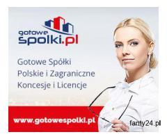 Gotowa Fundacja, Gotowa Spółka Niemieckia, Bułgarska, Czeska, Słowacka 603557777 KONCESJE OPC