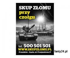 Zatrudnię pracowników fizycznych - Skup Złomu przy Czołgu 12/16