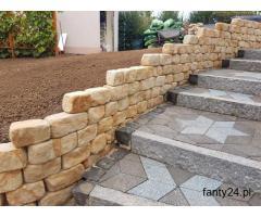 Cegła kamień  na mur skalniak skarpę do ogrodu ogrodowy