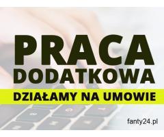 Praca przy komputerze, online do 900 pln/tyg