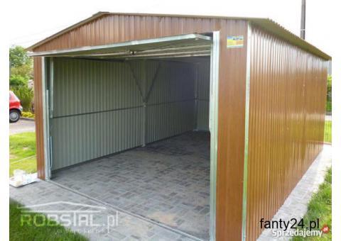 Garaż 3,5x5 Kolor Brama