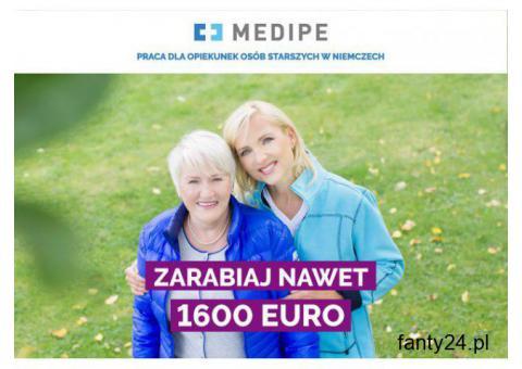 opiekunka osób starszych Niemcy , 1450 EURO