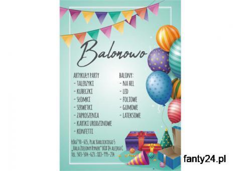 """""""BALONOWO"""" Balony, Artykuły urodzinowe"""