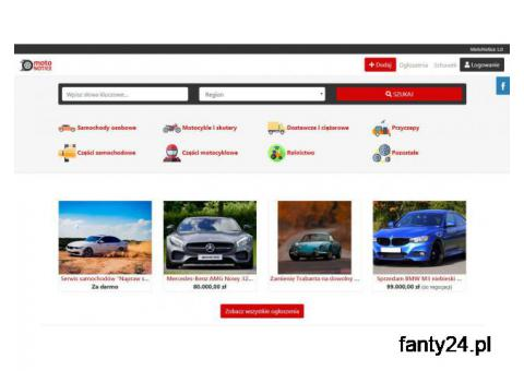 MotoNotice - skrypt strony z ogłoszeniami motoryzacyjnymi