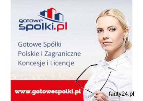 Gotowa Spółka w Bułgarii, w Anglii , w Czechach . Gotowe Fundacje,Koncesja Opc, w Rumunii, Węgry,