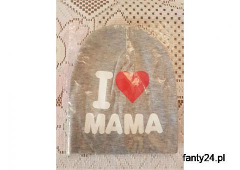 Czapeczki I LOVE MAMA