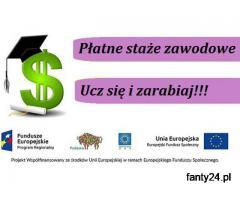 Płatne staże dla Słuchaczy Akademii Sukcesu w Suwałkach! Zapraszamy!