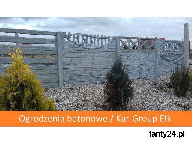 Ogrodzenia betonowe i podmurówka betonowa Kar-Group Ełk - 1/1
